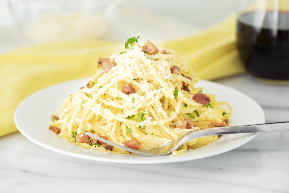 Carbonara with Pancetta
